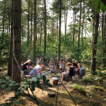 Skogsfloating creeert en versterkt teams